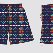 Daily Bread Aztec Swim Trunks – Created in Illustrator