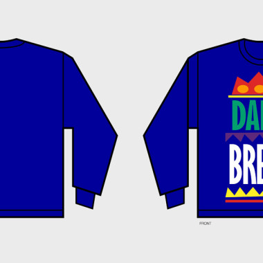 Daily Bread Moosh Logo Sweatshirt – Created in Illustrator – Logo provided by Daily Bread