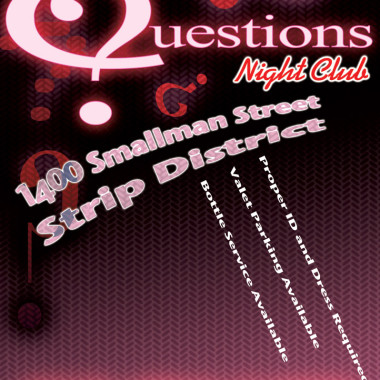 Questions Nightclub – Pitt News Ad
