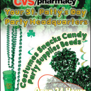 CVS St. Patrick's Day – Pitt News Ad