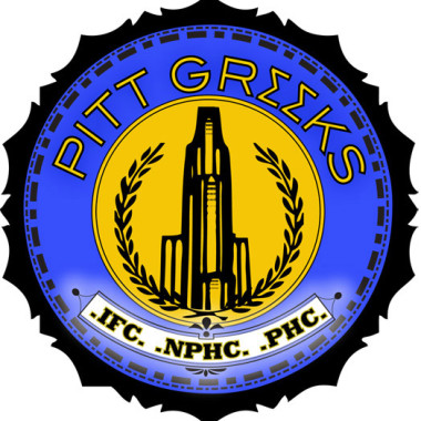 Pitt Greeks Logo – Created in Illustrator