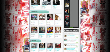 DatPiff Raz Fresco Background Skin – Created in Photoshop
