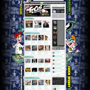 DatPiff Chris Webby Background Skin – Created in Photoshop – Artwork provided by RedTape
